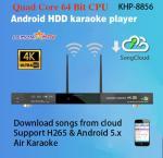 O jogador home do karaoke do sistema do ktv com músicas vietnamianas inglesas nubla-se, apoia-se H.265 o vídeo, construção em AGC/AVC