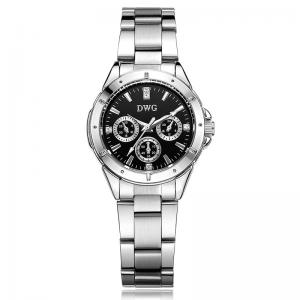 China OEM ODM Alloy Quartz Watch , Mixing Colors Steel Band Watch For Women'S on sale