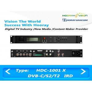 China Digital Satellite Receiver DVB-C DVB-S2 DVB-T2 Input  ASI IP output support CAM on sale