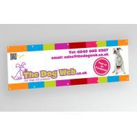 Promotional Big PVC Vinyl Flex Banner with Fiberglass And Aluminium Pole