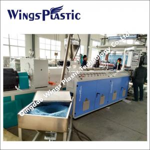 China Plastic PVC Cushion Mat Carpet Extrusion Line / Manufacturing Machine on sale