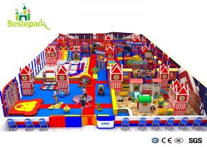 China Kids Theme Playground Equipment British Style Park / Soft Play Structures on sale