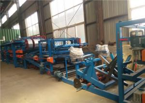 China EPS Roof / Wall Panel Sandwich Panel Production Line 33m Length Fully Automatic on sale