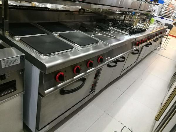 a470caafb Western Kitchen Equipment Commercial Gas Stove 4 Burner with Down Oven  700 700 Images