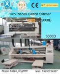 3 máquina de costura da caixa do cartão da dobra/5 exercem/7 dobras para a caixa grande do tamanho