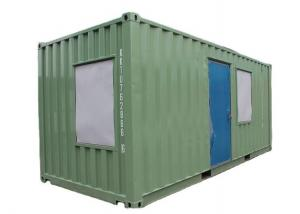 China Mobile Prefabricated Used 20 Ft Shipping Container Buildings on sale
