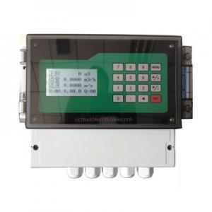 China Clamp On High Temperature Ultrasonic Flow Meter Ultrasonic Liquid Measurement on sale