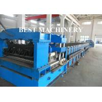 China 2mm Thickness Metal Corrugated Roof Roll Forming Machine Water Tank Usage on sale