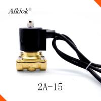 China 2A-15 Stainless Steel Solenoid Valves For Water Direct Acting 1Mpa on sale