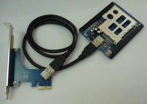 China PCIe To Express Adapter Card on sale