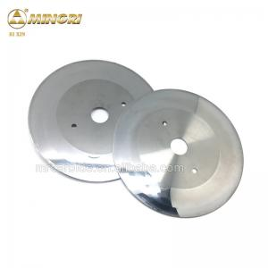 China Cemented Carbide circular blades for cutting slotter corrugated board raw material on sale
