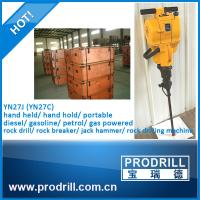 Yn27c Pneumatic Gas Powered Rock Drill