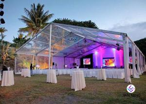 China Party Marquee Clear Span Tent Aluminum Tent For Restaurant ,  Wedding European Style on sale