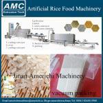 Arroz artificial que hace la máquina
