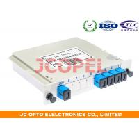 Outdoor Optical Distribution Splitter 1 In 4 Out Cassette Card G657A2