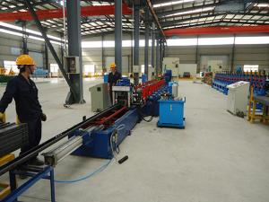 China Solar Strut Gear Box Driving Roll Forming Machine Automatic Production Line JH21-80 Press Machine on sale