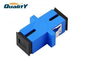 China Sm Dx Sc / Upc Internal Fiber Optic Adapter Single Mode SC / PC Optic Fiber Coupler on sale