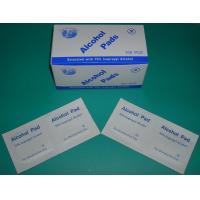 China Cleansing and Antiseptic wipe Pre-injection Alcohol Swab IPA pad in custom size on sale