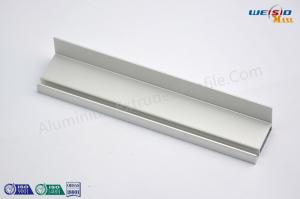 China Window Frame Silver Color Aluminium Construction Profiles With Electrophoresis Treatment on sale