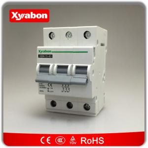 Triple pole mcb circuit breakers 400V~ 3 phase type C 10kA 6A - 63A ...
