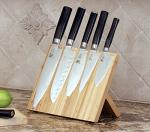 Bamboo Wooden Magnetic Knife Block