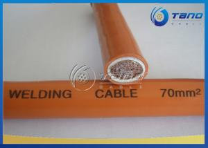 China Super Flexible Copper Rubber Insulated Cable Single Core For Welding Machine on sale