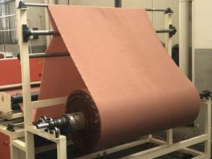 China Nylon66 Fabric Reinforced Rubber Sheet , Custom Color Rubber Diaphragm Fabrics on sale
