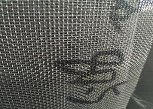China Twill Weave 2x2 Wire Mesh Panels Low Elongation And High Tension on sale
