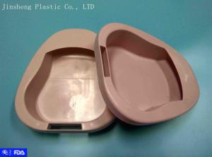 China Customized FDA Register Disposable Plastic Bed Pans 206g , 355*30*80 mm on sale