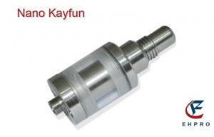 China Rebuildable Kayfun Nano E Cigarette Atomizer Stainless Steel With Adjustable Airhole on sale