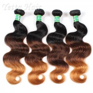 China 18 Inch Colorful Peruvian 7A Virgin Hair Weave Without Chemical on sale