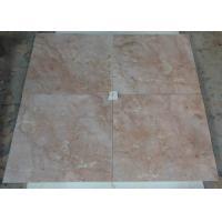 Indoor Flooring Red Jade Marble Stone Tiles 1.0cm - 4cm Thickness Heat Insulation