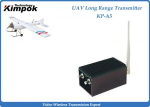 China 1.2Ghz Analog Video Transmitter 5W UAV Wireless Video Transmitter and Receiver 8 Channels on sale
