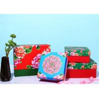 Chinese Traditional Style Customized Paper Gift Box With Brightly Painted
