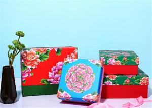China Chinese Traditional Style Custom Paper Gift Box With Brightly Painted on sale