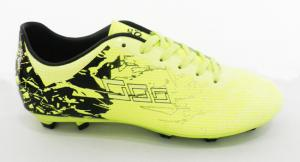 China Yellow Professional Flexible Football Outdoor Soccer Cleats Wear Resistance on sale