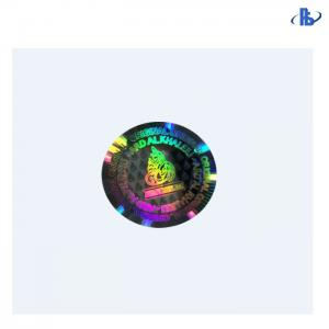 China Waterproof Holographic Security Labels Round / Square With 3D Multicolor on sale