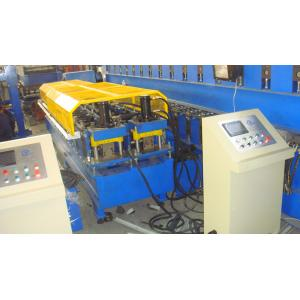 China Automatic Steel Stud And Track Roll Forming Machine Double Side PLC Control on sale