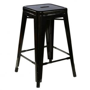 China Replica Bistro Patio Metal Tolix Chairs H65CM / Tolix Marais Counter Stool on sale