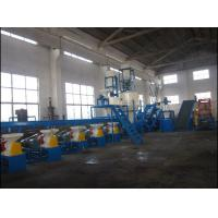 500 Kg/H Capacity Waste Tyre Recycling Machine For Crumb Rubber / Tyre Crushin