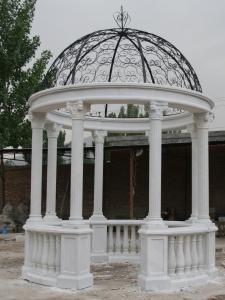 China Marble Garden Gazebo on sale