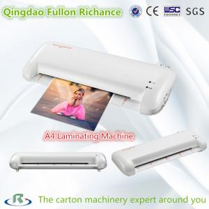 China High Efficient Low Cost A4 Size Manual Laminating Machine for Photo Menu on sale