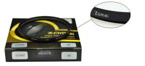 China New brand Zomei 62mm Multi-coated UV optical filters on sale