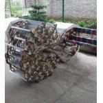 Corda marinha de aço inoxidável da bananeira da escada do embarque da escada de embarque/corda da fibra