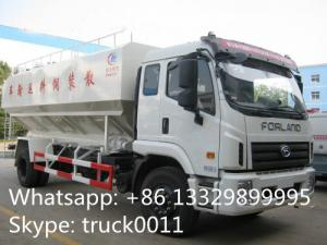 China China brand foton 10tons-15tons bulk feed discharge truck for sales, livestock farm-oriented animal feed delivery truck on sale