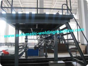 China Economic Membrane Panel Welding Machine With MIG Or SAW Welding Method on sale