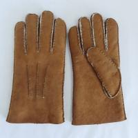 China High quality Merino shearling men's sheepskin gloves on sale