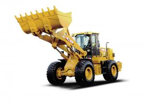 China LW900KN - LNG Yellow Wheel Loader earthmoving machines Excellent performance on sale