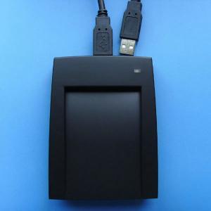 TYPE B Desktop USB RFID Reader , NFC Free SDK RFID Reader