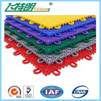 PP Anti Aging Interlocking Rubber Floor Tiles Play Mat Flooring 2500N